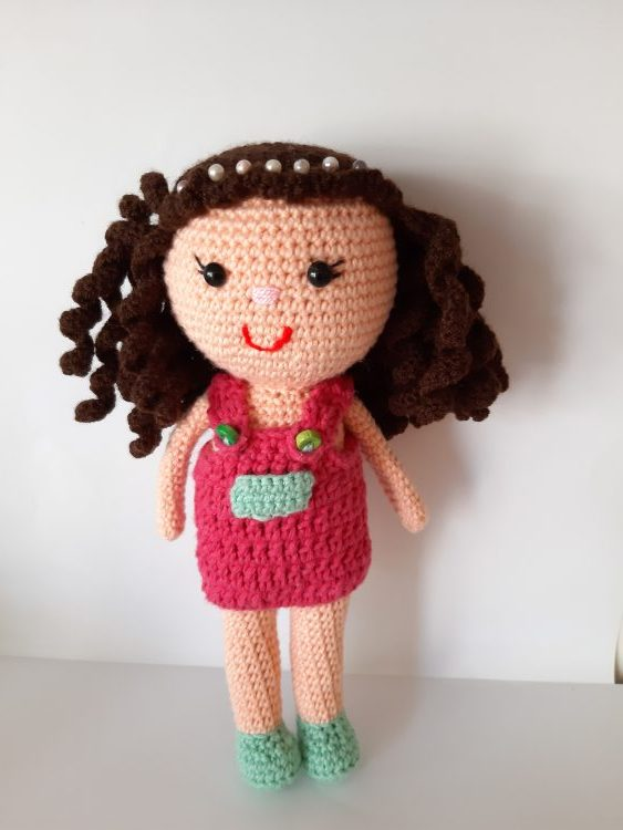 Leithygurumi: Amigurumi Keychain Doll Free English Pattern Design ... | 750x563